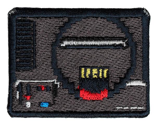セガハードウェア 2way刺繍ワッペン〈メガドライブ〉(再販)[GRAPHT GAMING LIFE]《発売済・在庫品》