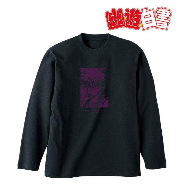 幽☆遊☆白書 描き下ろしイラスト 蔵馬 90'sカジュアルver. ロングTシャツ ユニセックス S[アルマビアンカ]《在庫切れ》