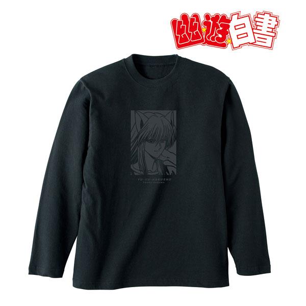 幽☆遊☆白書 描き下ろしイラスト 妖狐蔵馬 90'sカジュアルver. ロングTシャツ ユニセックス XL[アルマビアンカ]《在庫切れ》