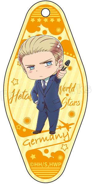 ヘタリア World★Stars モーテルキーホルダー ドイツ[フロンティアワークス]《在庫切れ》