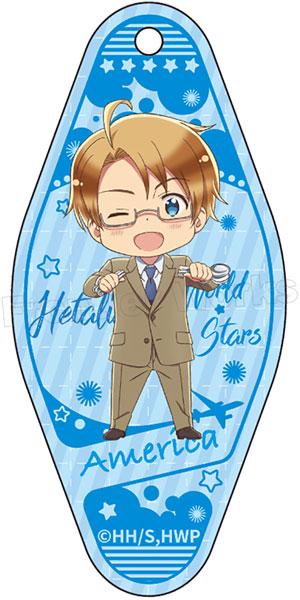ヘタリア World★Stars モーテルキーホルダー アメリカ[フロンティアワークス]《発売済・在庫品》