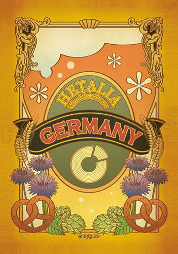 ヘタリア World★Stars ステッカー(ChaLabel)ドイツ[フロンティアワークス]《在庫切れ》