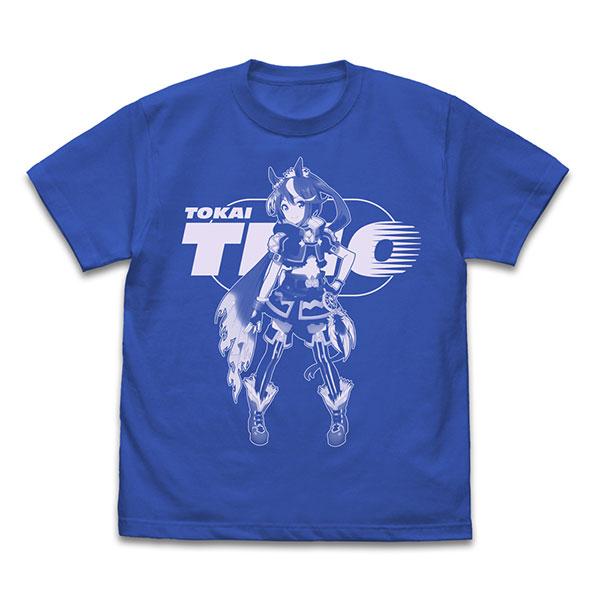 TVアニメ『ウマ娘 プリティーダービー Season 2』 トウカイテイオー Tシャツ/ROYAL BLUE-L[コスパ]《06月予約》
