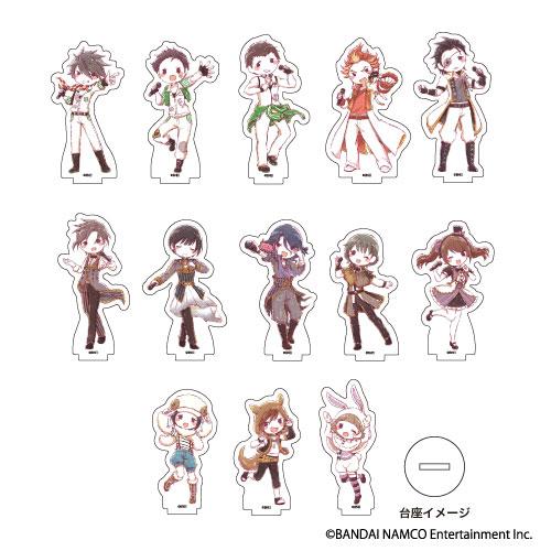 アクリルぷちスタンド「アイドルマスター SideM」03/トレーディング グラフアート13個入りBOX[A3]《06月予約》