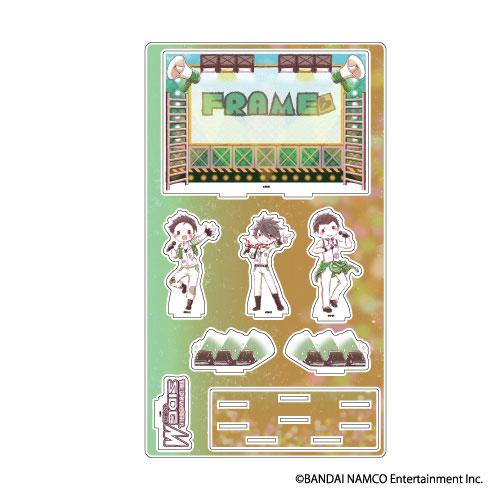 プレミアム アクリルジオラマプレート「アイドルマスター SideM」09/FRAME(グラフアート)[A3]《06月予約》