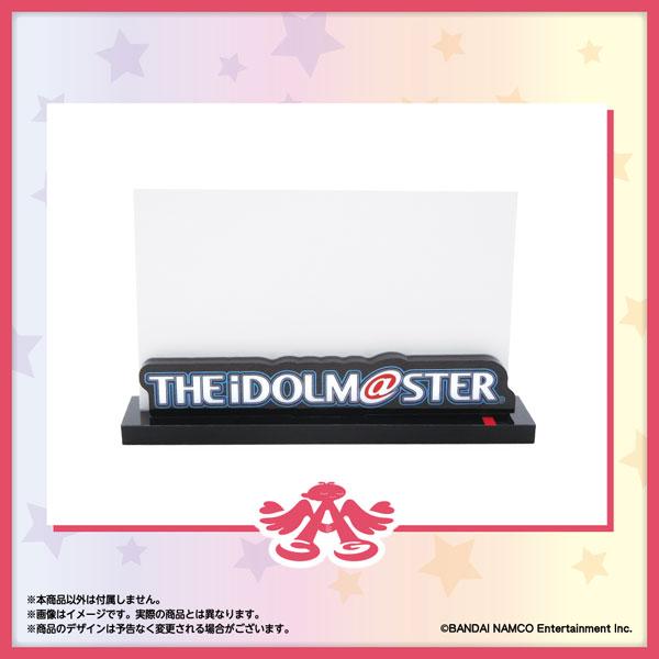 「アイドルマスター」シリーズ15周年記念 ロゴ名刺スタンド アイドルマスター Ver.[あみあみ]《07月予約》