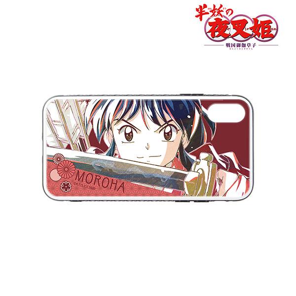 半妖の夜叉姫 もろは Ani-Art 強化ガラスiPhoneケース(11)[アルマビアンカ]《08月予約》