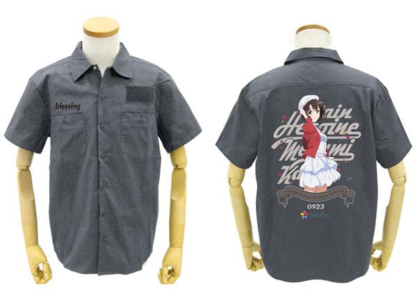 GEE!限定 冴えない彼女の育てかた Fine 限定版 加藤恵フルカラーワークシャツ/GRAY-XL[コスパ]《在庫切れ》