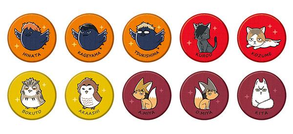 刺繍CANバッジ ハイキュー!!TO THE TOP 10個入りBOX[タカラトミーアーツ]《10月予約》