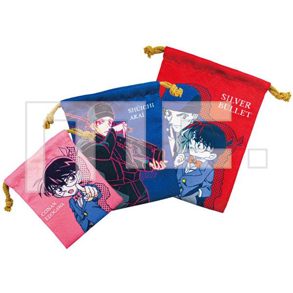 名探偵コナン 3P巾着 赤井秀一&江戸川コナン[マリモクラフト]《在庫切れ》