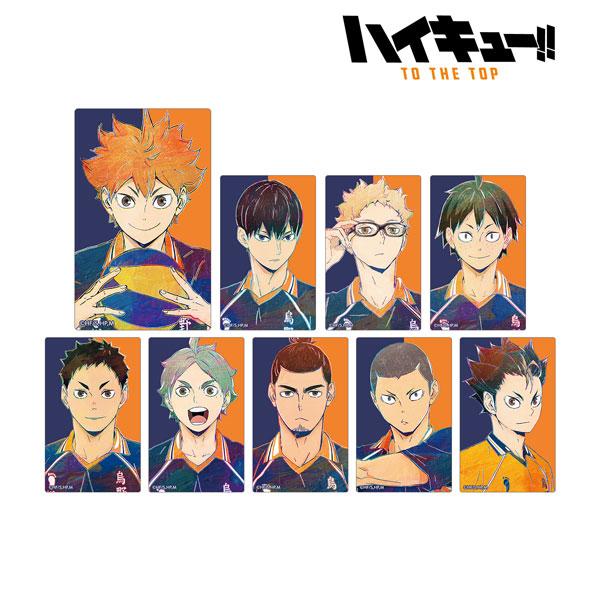 ハイキュー!! TO THE TOP トレーディング Ani-Art 第4弾 カードステッカー 9個入りBOX[アルマビアンカ]《10月予約》