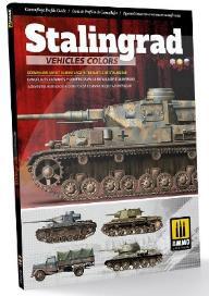 スターリングラード参戦車両のカラー:スターリングラード攻防戦のドイツ軍とロシア軍の迷彩 (書籍)[アモ]《在庫切れ》