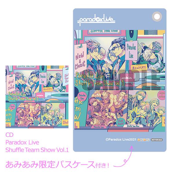 【あみあみ限定特典】CD Paradox Live Shuffle Team Show Vol.1[エイベックス]《発売済・在庫品》