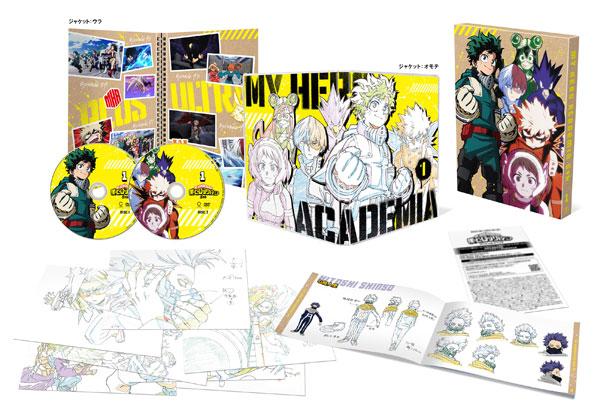 DVD 僕のヒーローアカデミア 5th DVD Vol.1 初回生産限定版[東宝]《07月予約》