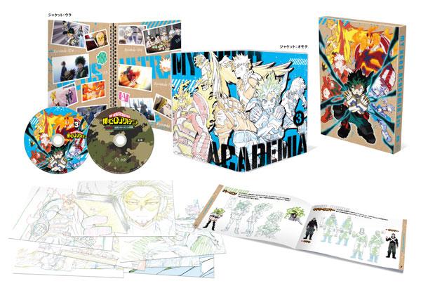 BD 僕のヒーローアカデミア 5th Blu-ray Vol.3 初回生産限定版[東宝]《11月予約》