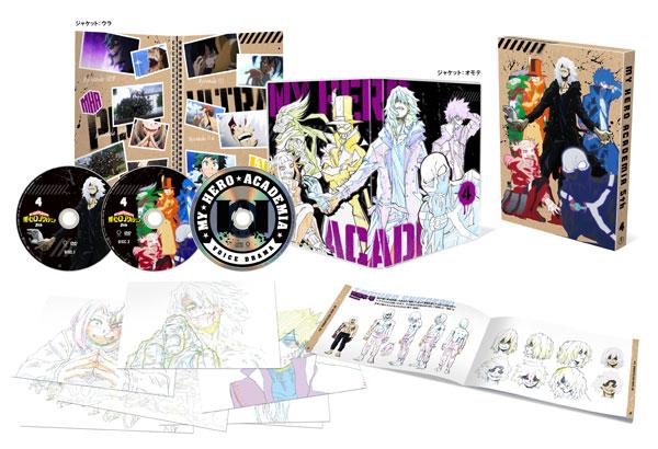 DVD 僕のヒーローアカデミア 5th DVD Vol.4 初回生産限定版[東宝]《01月予約》