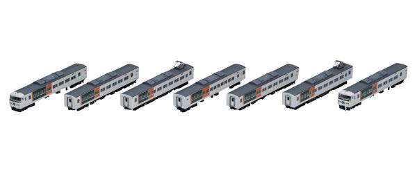 98398 JR 185-200系特急電車(踊り子・新塗装・強化型スカート)セット(7両)[TOMIX]【送料無料】《在庫切れ》