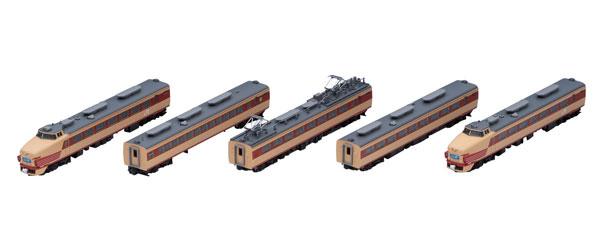 98385 JR 485系特急電車(京都総合運転所・白鳥)基本セットA (5両)[TOMIX]【送料無料】《在庫切れ》