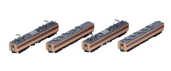 98387 JR 485系特急電車(京都総合運転所・白鳥)増結セット (4両)[TOMIX]《在庫切れ》