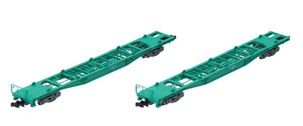 8741 JR貨車 コキ250000形(コンテナなし・2両セット)[TOMIX]《在庫切れ》