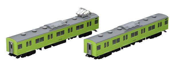 98423 JR 103系通勤電車(JR西日本仕様・黒サッシ・ウグイス)増結セット (2両)[TOMIX]《在庫切れ》