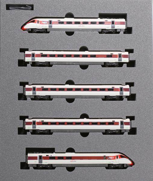 "(箱破損特価新品)10-1674 英国鉄道Class800/2 LNER""AZUMA"" 5両セット[KATO]【送料無料】《在庫切れ》"