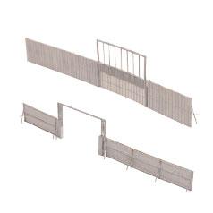 ジオラマコレクション 情景小物052-3 工事現場B3 ~ゲートと塀~[トミーテック]《08月予約》