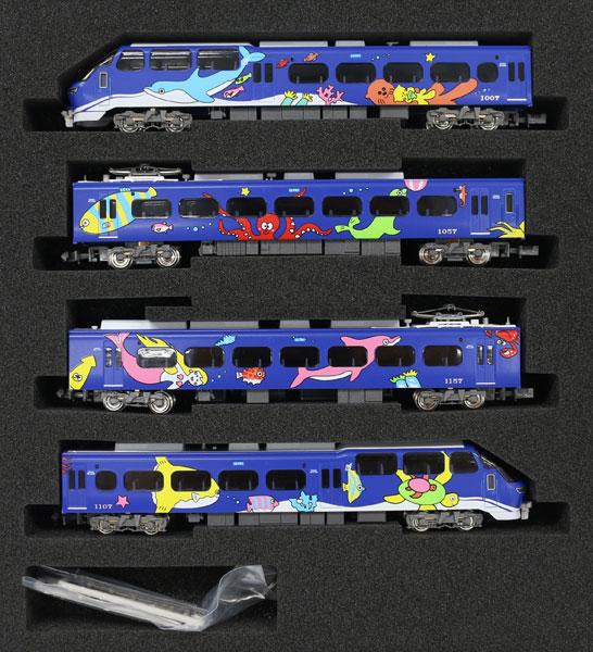 50691 名鉄1000系 ブルーライナー 4両編成セット(動力付き)[グリーンマックス]【送料無料】《08月予約》