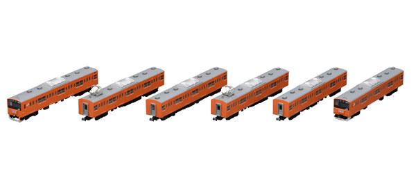 98767 JR 201系通勤電車(中央線・分割編成)基本セット(6両)[TOMIX]【送料無料】《12月予約》