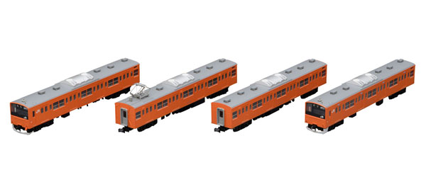 98768 JR 201系通勤電車(中央線・分割編成)増結セット(4両)[TOMIX]《12月予約》