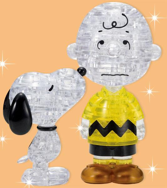 クリスタルパズル スヌーピー&チャーリーブラウン[ビバリー]《09月予約》