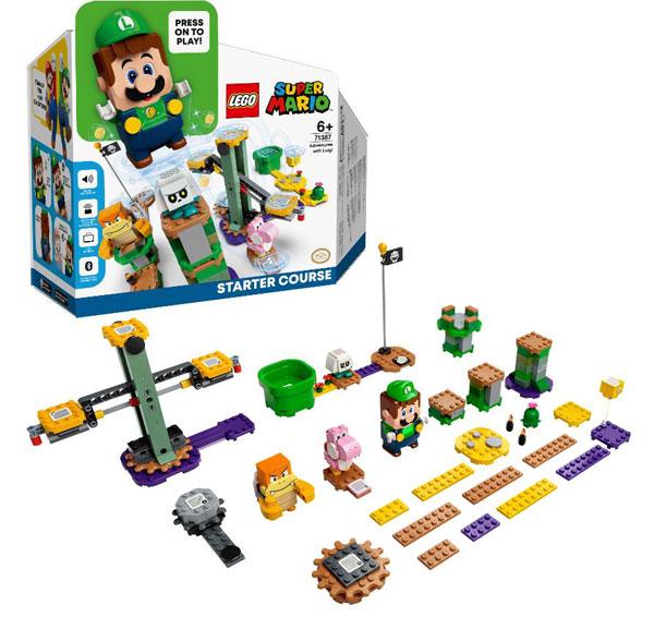 レゴ Super Mario ルイージ と ぼうけんのはじまり ~ スターターセット (71387)[レゴジャパン]《在庫切れ》