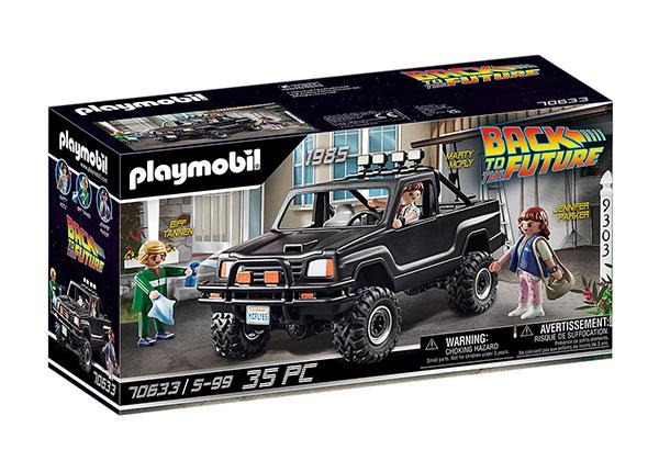 プレイモービル 70633『バック・トゥ・ザ・フューチャー』マーティ・マクフライ&ピックアップ・トラック[プレイモービル]《発売済・在庫品》