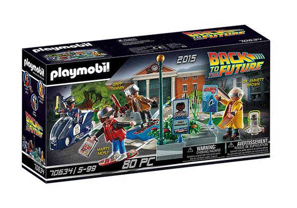 プレイモービル 70634『バック・トゥ・ザ・フューチャー PART2』ホバーボード・チェイス[プレイモービル]《発売済・在庫品》