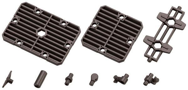 ヘキサギア ブロックベース06 スラットプレートオプション 1/24 キットブロック[コトブキヤ]《10月予約》