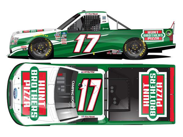 1/64 ケビン・ハービック #17 ハントブラザースピザ フォード F-150 NASCARキャンピングワールド・トラック 2021[Lionel Racing]《11月予約》