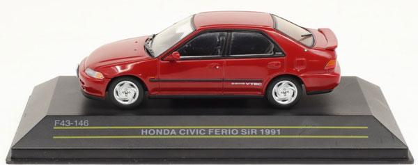1/43 ホンダ シビックフェリオ SiR 1991 レッド[First43]《04月予約》