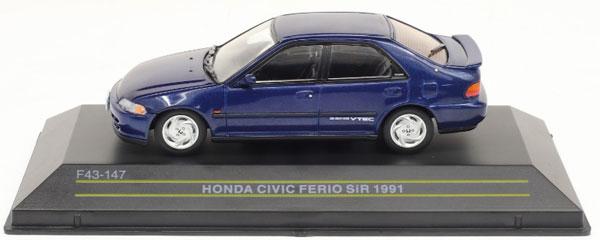 1/43 ホンダ シビックフェリオ SiR 1991 ブルー[First43]《04月予約》