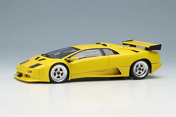 1/43 ランボルギーニ ディアブロ イオタ PO.01 レーシングバージョン 1995 イエロー[メイクアップ]【送料無料】《08月予約》
