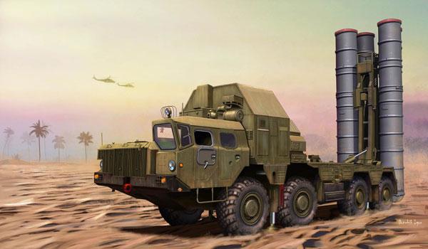 1/72 ファイティングヴィークルシリーズ ロシア S-300PMU 地対空ミサイルシステム プラモデル[ホビーボス]《06月予約》