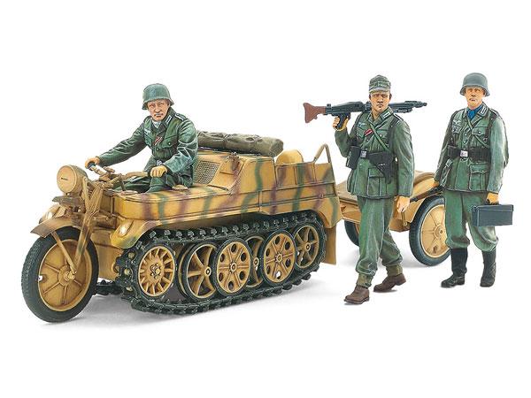 1/35MM ドイツ Sd.Kfz.2 ケッテンクラート中期型 プラモデル[タミヤ]《05月予約》