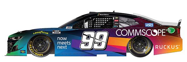 """1/64 """"ダニエル・スアレス"""" #99 コムスコープ シボレー カマロ NASCAR 2021[Lionel Racing]《12月予約》"""