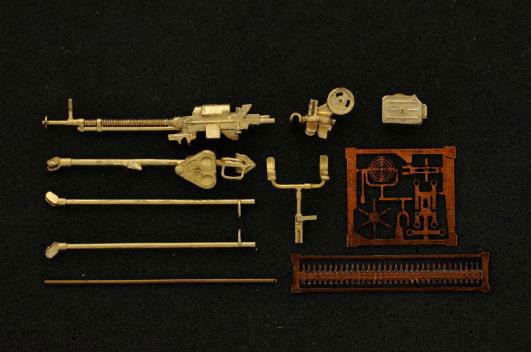 1/72 DShK 1938年型 12.7mm重機関銃w/三脚座 (対空銃用)[Mini World]《06月予約》