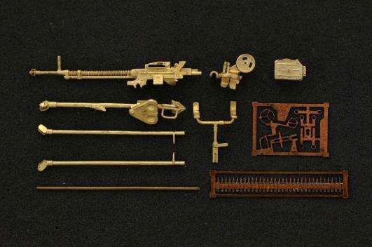 1/72 DShKM 12.7mm重機関銃w/三脚座 (対空銃用)[Mini World]《06月予約》