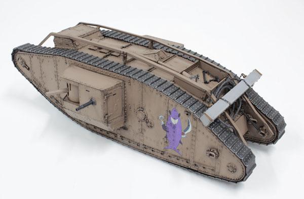 【特典】ガールズ&パンツァー 最終章 1/35 Mk.IV戦車 サメさんチーム 準決勝です! プラモデル[プラッツ]《在庫切れ》
