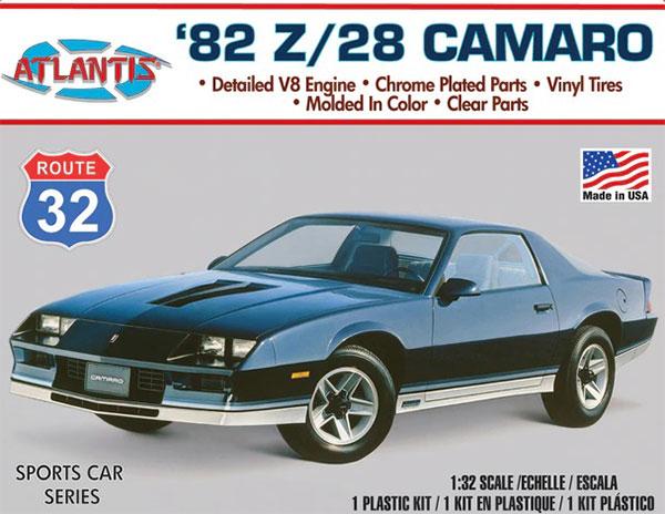 1/32 '82 Z/28 カマロ 「ルート32」 プラモデル[アトランティスモデル]《06月予約》