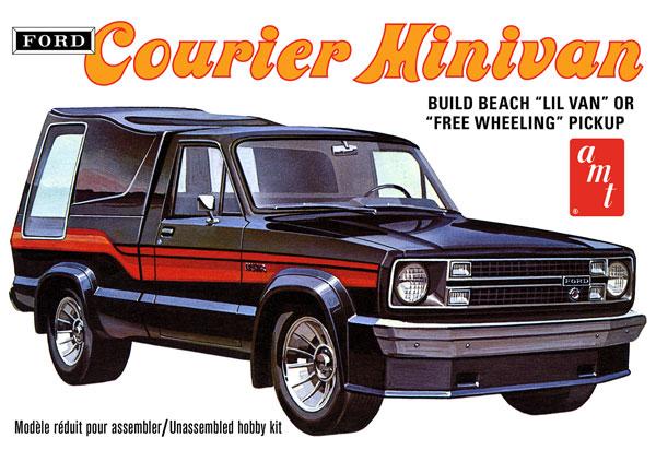 1/25 フォード クーリエ ミニバン 1978 プラモデル[AMT]《06月予約》