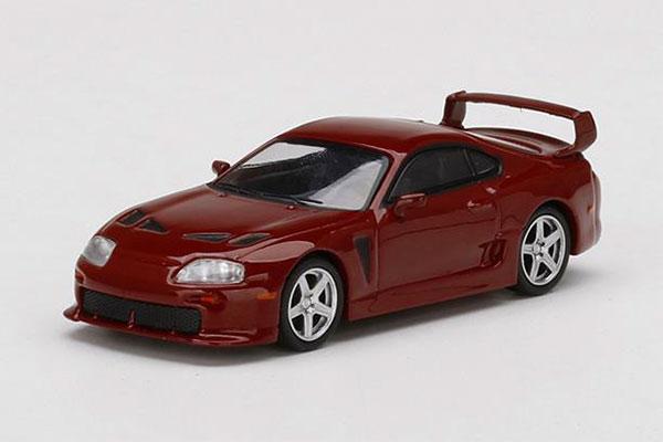 1/64 Toyota TRD 3000GT ルネサンスレッド(右ハンドル)[MINI GT]《08月予約》