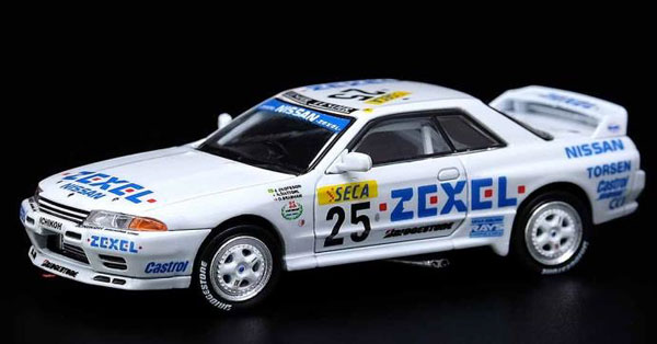 1/64 Nissan スカイライン GT-R R32 #25 ZEXEL 24hr Spa 1991 優勝車[INNO Models]《06月仮予約》