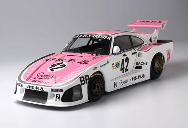 1/24 レーシングシリーズ ポルシェ 935 K3 /80 伊太利屋 1980 ル・マン24時間レース プラモデル[プラッツ/nunu]《06月予約》